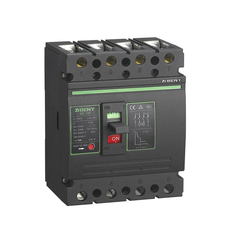 DC Molded Case Circuit Breaker BD-125