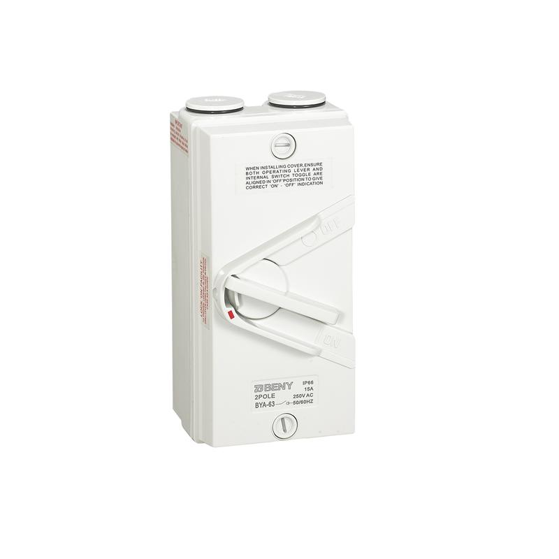 AC isolator switch BYA-63