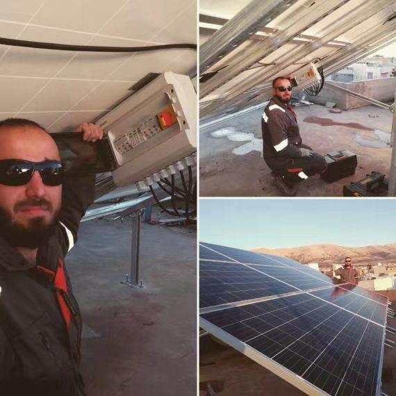 5KW solar project in Iran