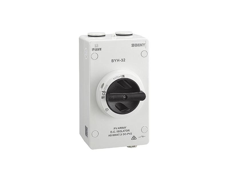 DC Isolator BYH-32 IP66 1000V 32A