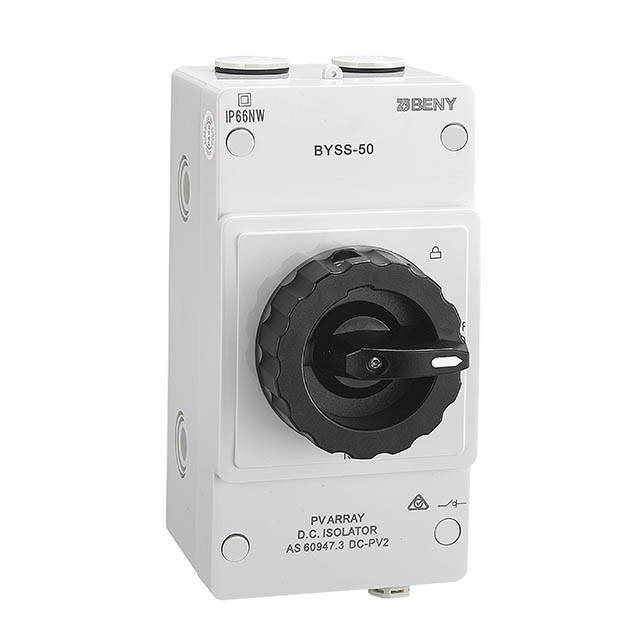 DC Isolator IP66 up to 1500V 50A