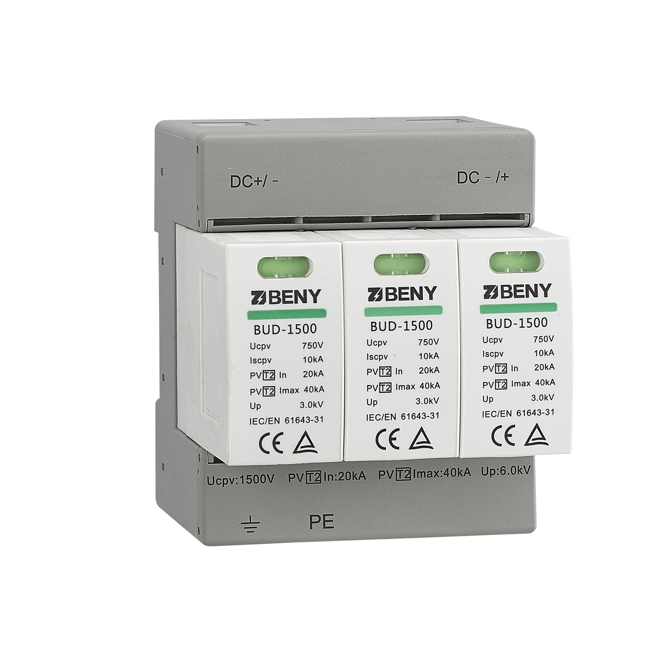 DC SPD Type2 up to 1500V